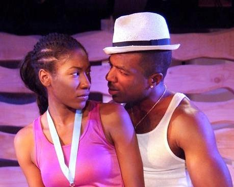 "Diarra Kilpatrick and Gilbert Glenn brown in ""In the Red and Brown Water"""