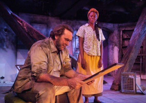 "Fugard's ""The Blue iris"" at the Fountain Theatre (US Premiere, 2012)."