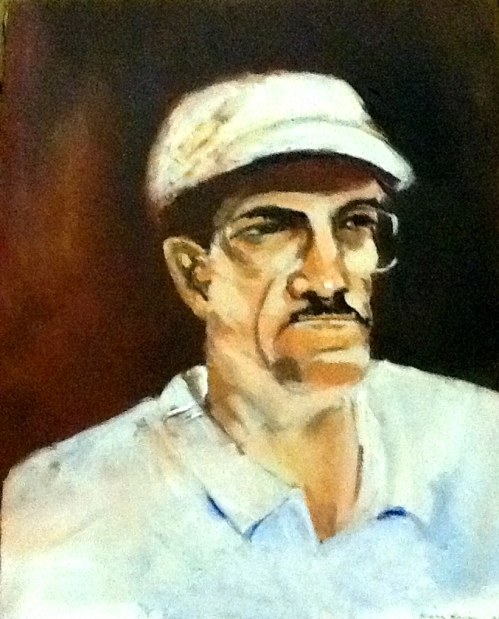Ben Bradley painting