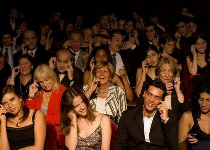cell phone audience