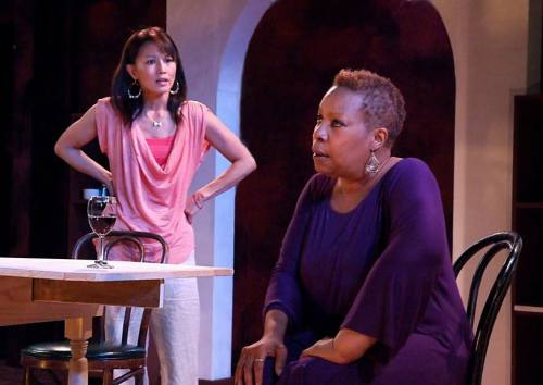 Tamlyn Tomita and Juanita Jennings in 'Heart Song'