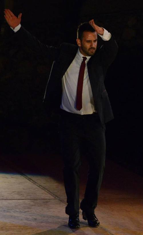 Manuel Gutierrez at 'Forever Flamenco at the Ford'