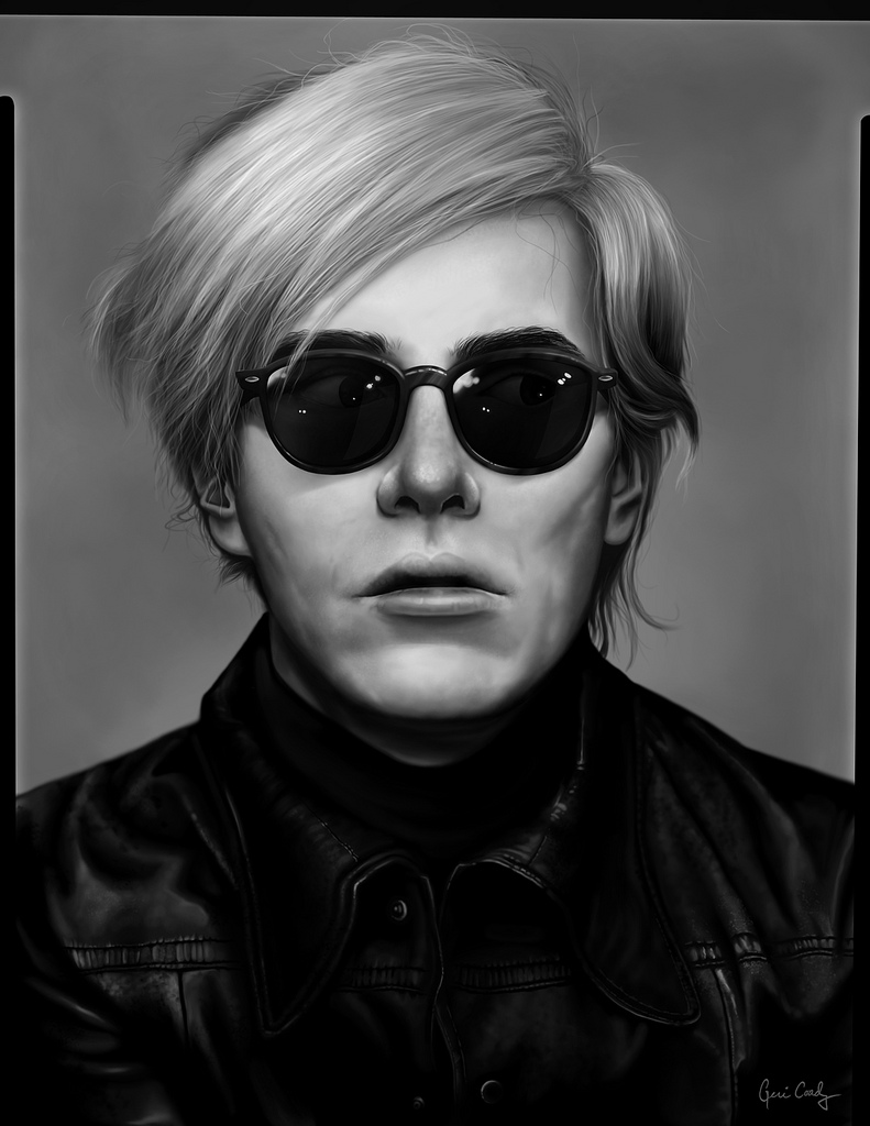 Andy warhol intimate excellent for Foto effetto andy warhol