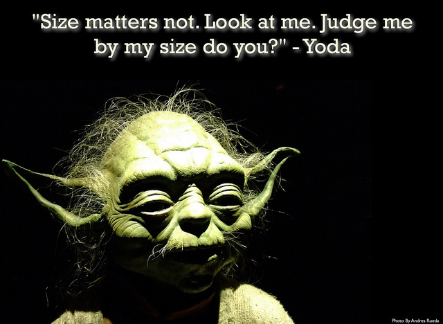 Le Flood en Images ! - Page 18 Yoda-size-matters-not
