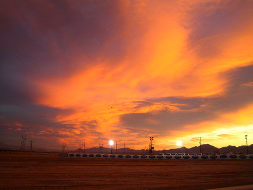 Mojave station sunrise